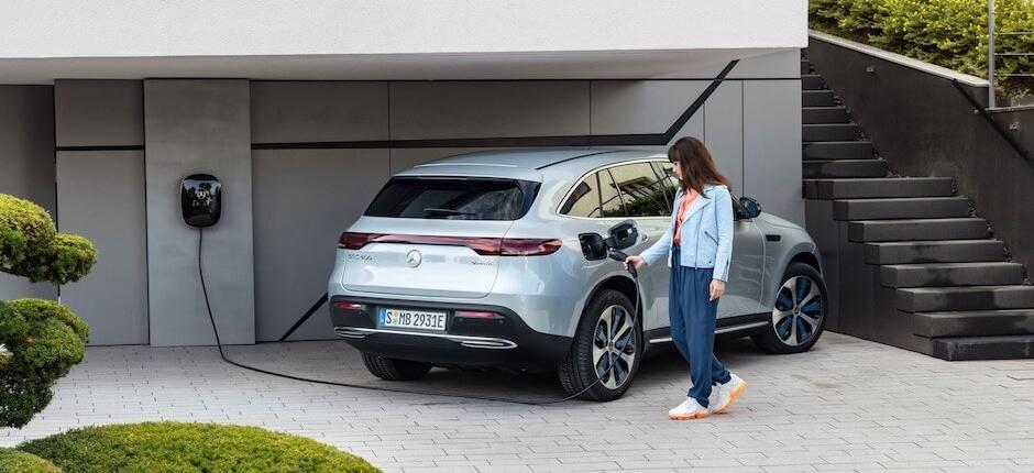 Elektrische auto opladen bij wallbox vakantiehuis - vakantiehuis met laadpaal