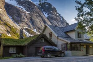 Lunde Turiststasjon - Noorwegen